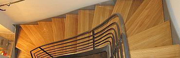 Renovierung und Erneuerung von Treppen - Parkett Schäfer Sohland